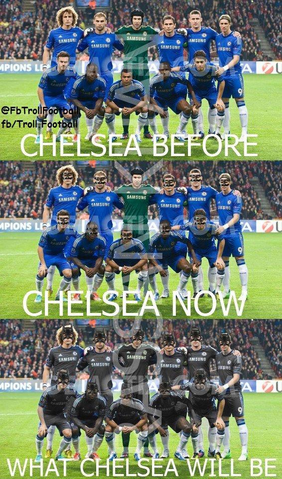 Mốt mới tại Stamford Bridge