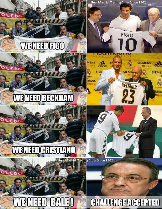 Phong cách của Real Madrid