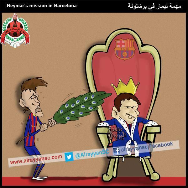 Neymar cũng chỉ phục dịch Messi mà thôi