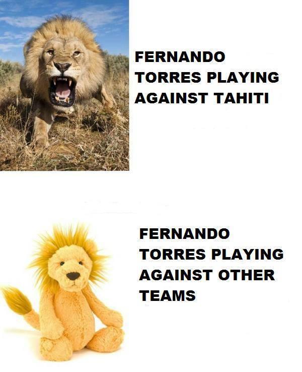 Torres chỉ hổ báo với Haiti thôi