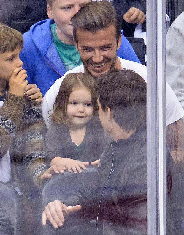 Rảnh rỗi, David Beckham đưa cả nhà về Mỹ du hý