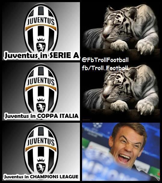 Juve chỉ là trò hề tại Champions League...