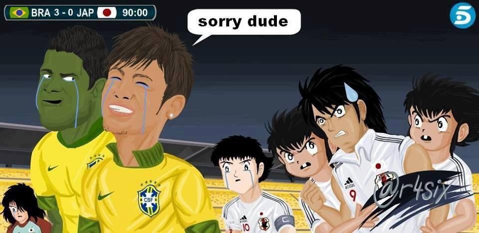 Neymar khóc thương cho mấy anh chàng truyện tranh Subasa