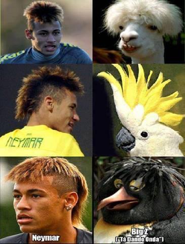 Các kiểu đầu của Neymar