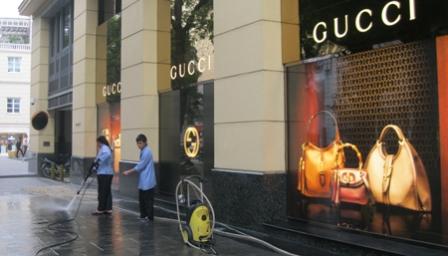 Cửa hàng Gucci – Milano chính thức bị xử lý