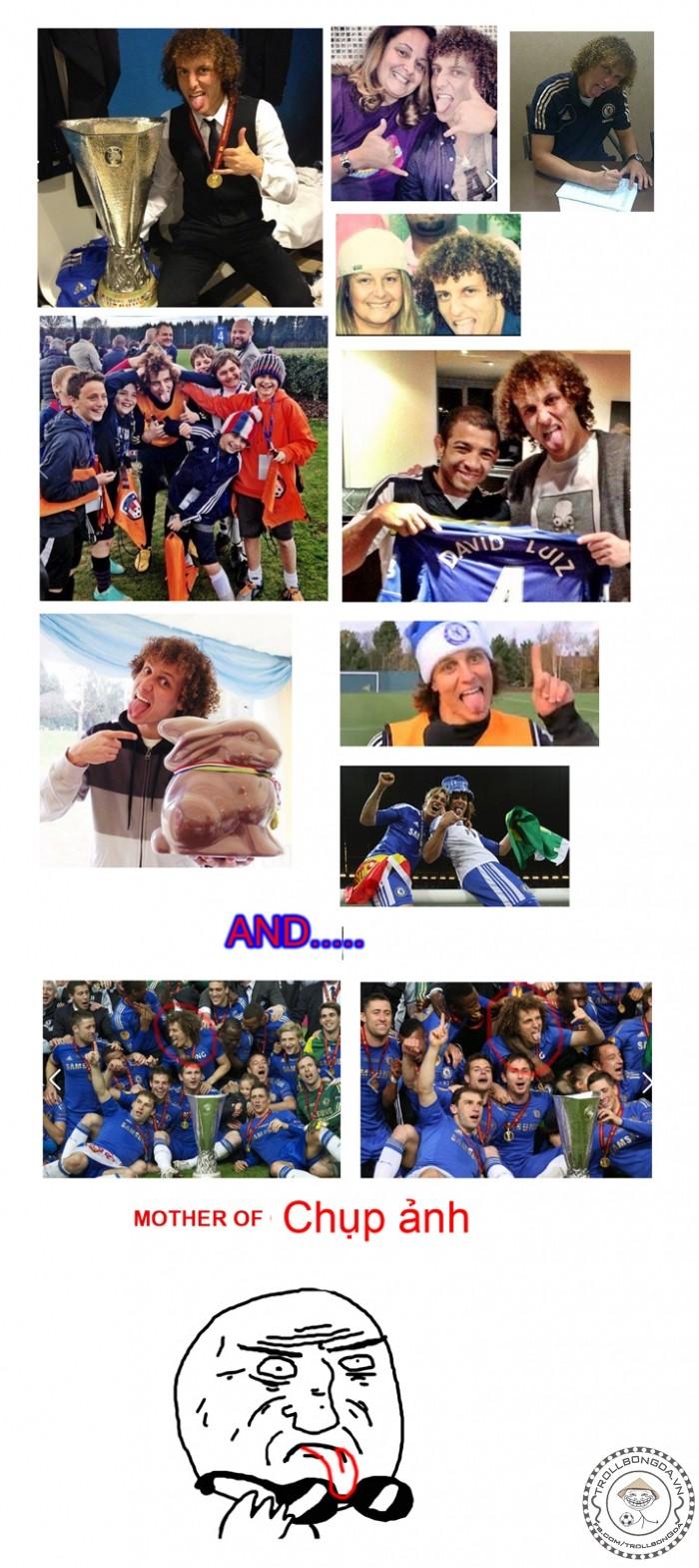 Phong cách David Luiz