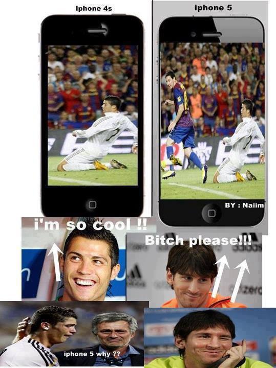 CR7 vẫn kém Messi 1 bậc
