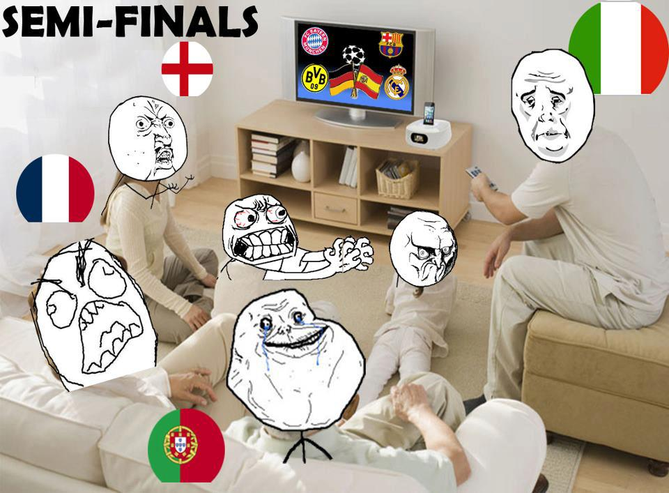"""Đức, TBN """"chúng nó"""" ăn mảnh Champions League à?"""