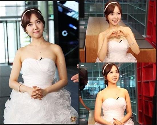 Kim Min Ji hiện là người tình chính thức của Park