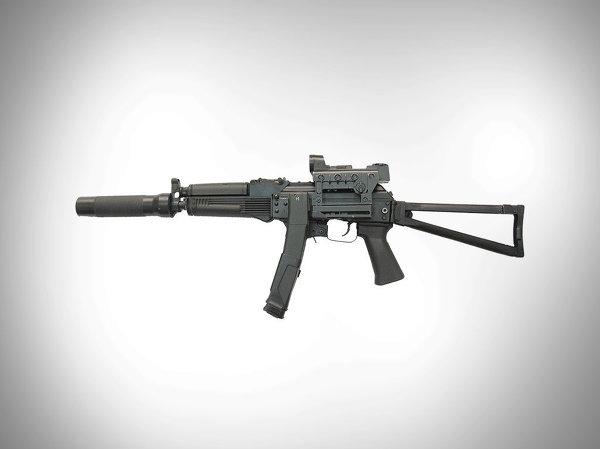 Súng tiểu liên Vityaz-SN 9-mm được sản xuất dựa trên súng trường tấn công AKS-74U. Nó được trang bị ống ngắm laser và thiết bị giảm thanh.