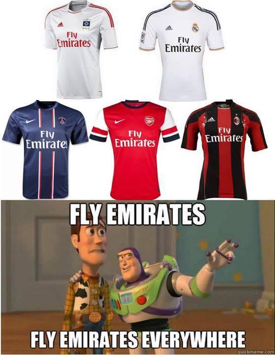 Sự bá đạo của Fly Emirates
