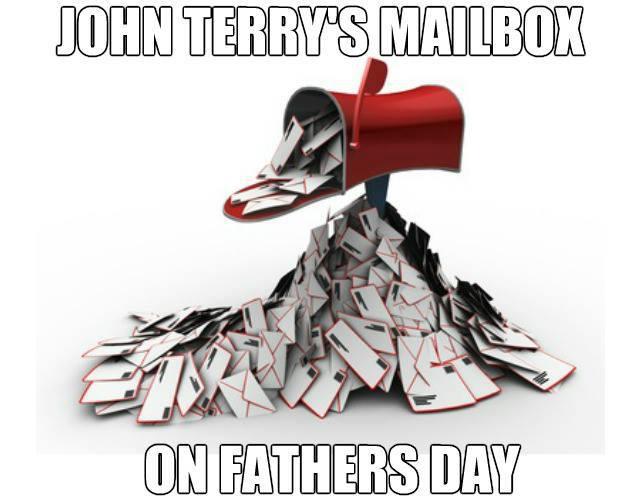 Hòm thư của Terry đầy ắp trong ngày của cha