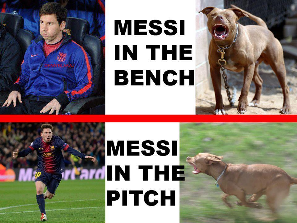 Messi cũng nào cũng đáng sợ