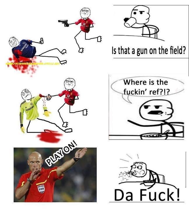 Đây là cách trọng tài điều khiển Premier League của Man United!