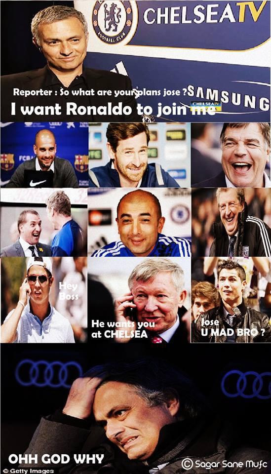 """Lại đến Jose Mourinho """"chém gió"""""""