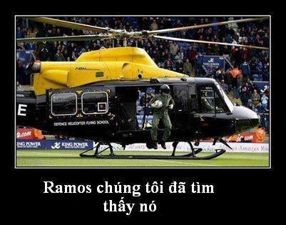 Họ đã tìm thấy quả bóng của Ramos