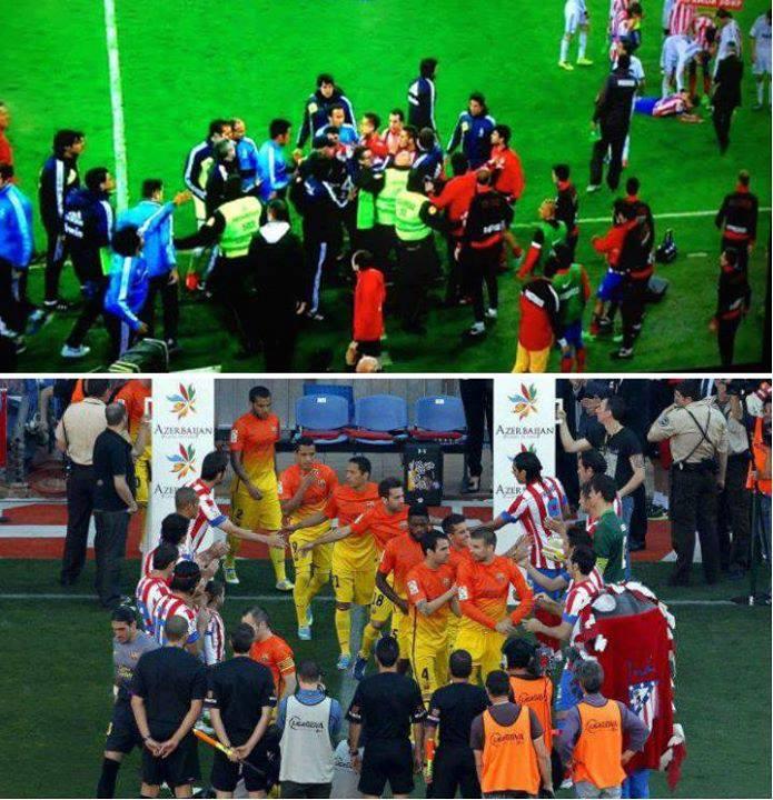 Sự khác biệt giữa Real và Barca
