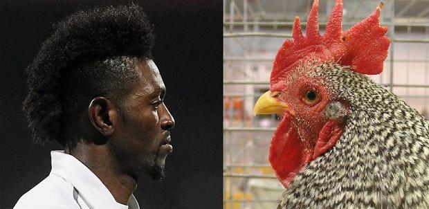 Mái tóc mào gà của Adebayor