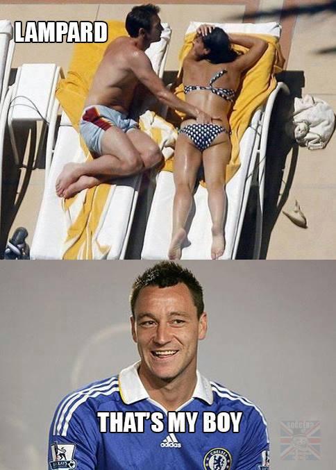 Đồng đội của Terry có khác
