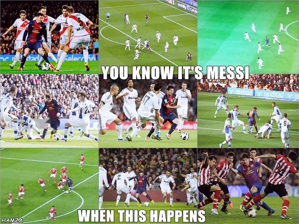Chỉ có thể là Messi!