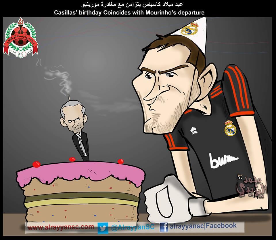 Mừng sinh nhật Casillas nào