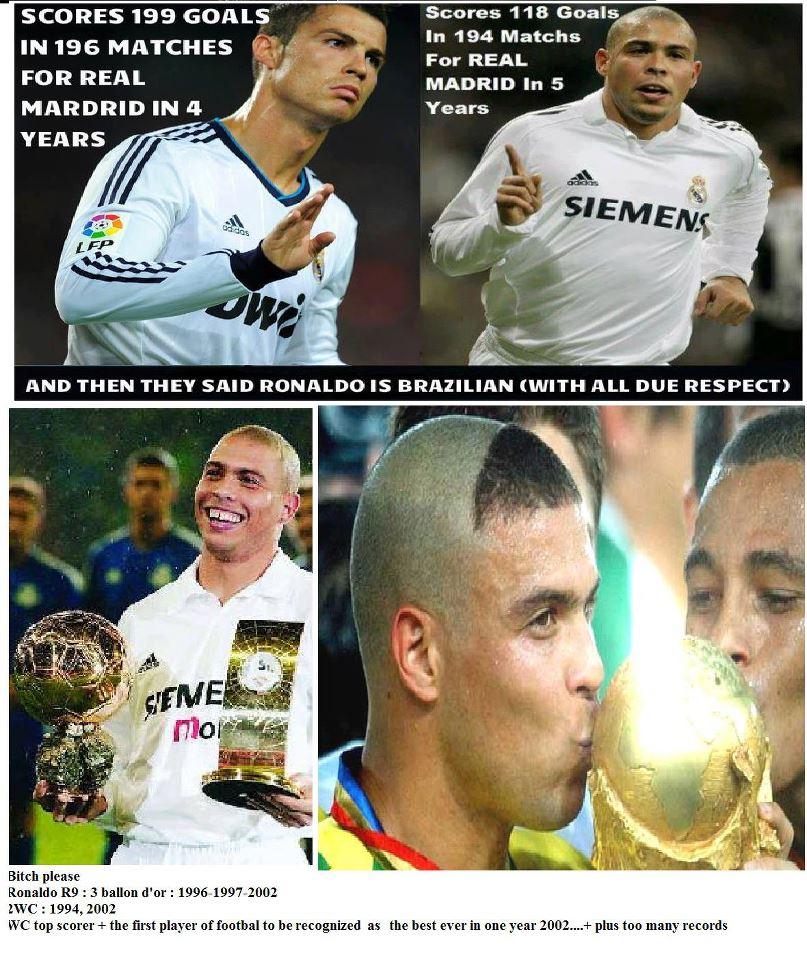 Chỉ có một Ronaldo mà thôi