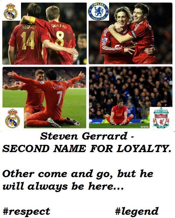 Giờ chỉ còn lại mình Gerrard