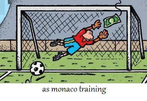 Cách huán luyện của các cầu thủ Monaco