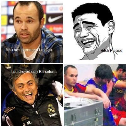 Mourinho hủy hoại La Liga bởi đã đánh bại Barca?