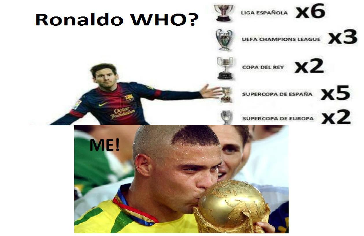 Thế Si muốn nói Ronaldo nào?