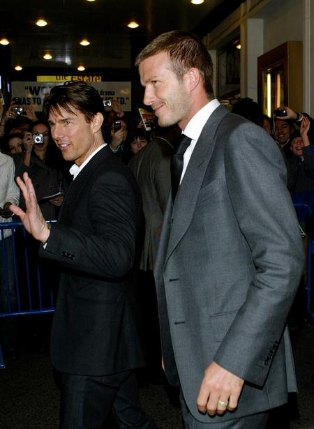 Tom Cruise từng hứa sẽ giúp David trở thành ngôi sao phim hành động