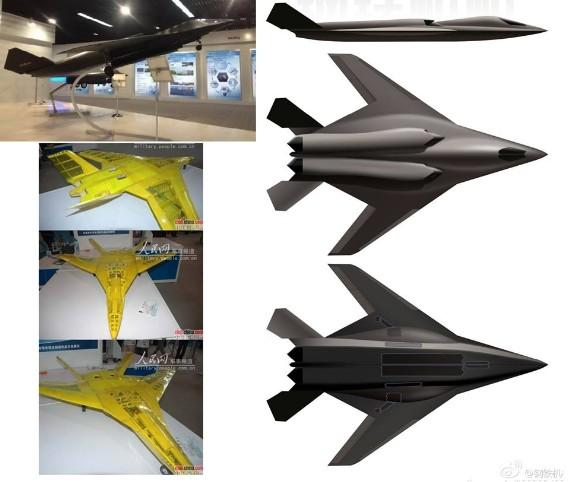 Máy bay ném bom chiến lược tầm xa mới của Trung Quốc.