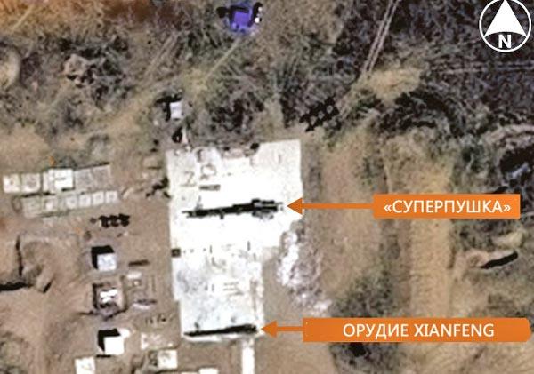 Bức ảnh vệ tinh cho thấy Trung Quốc đang phát triển 2 loại