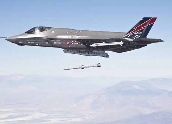 Hệ thống vũ khí mới sẽ làm tăng đáng kể khả năng chiến đấu của F-35.