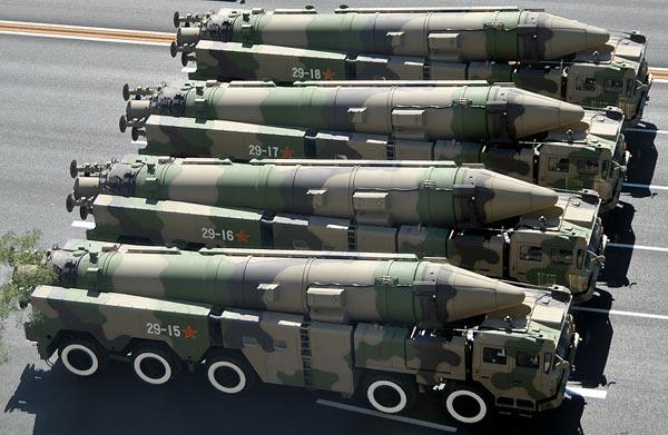 Biến thể DF-21C được trang bị loại xe mang phóng chuyên dụng mới mang lại khả năng cơ động cao hơn.