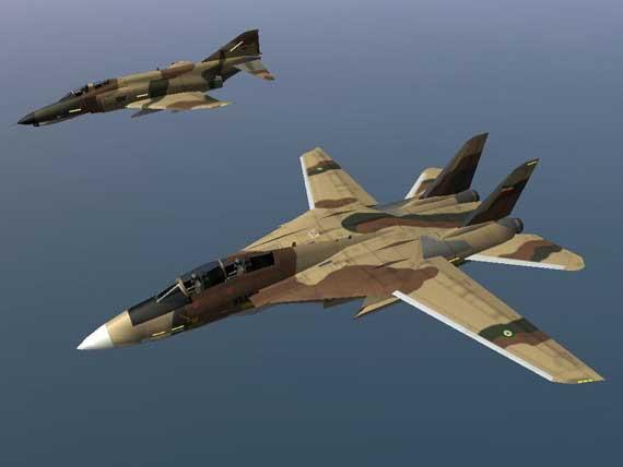 F-14 của Không quân Iran.