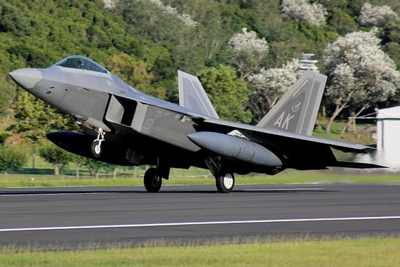 F-22 thuộc Phi đội máy bay chiến đấu số 3.
