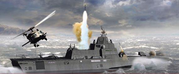 Mk60 đảm bảo tạo ra một lá chắn cho con tàu chống lại các mối đe dọa từ bên ngoài.