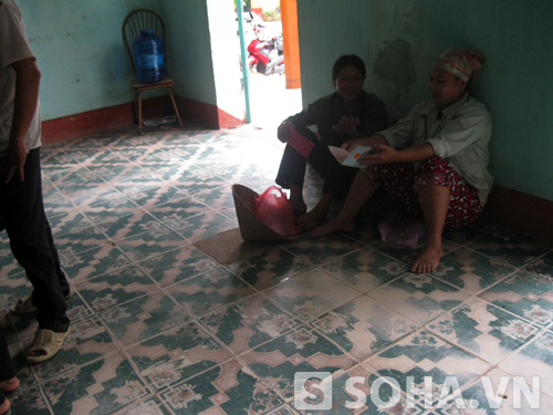 Phòng tiếp dân của UBND xã Thành Công cũng
