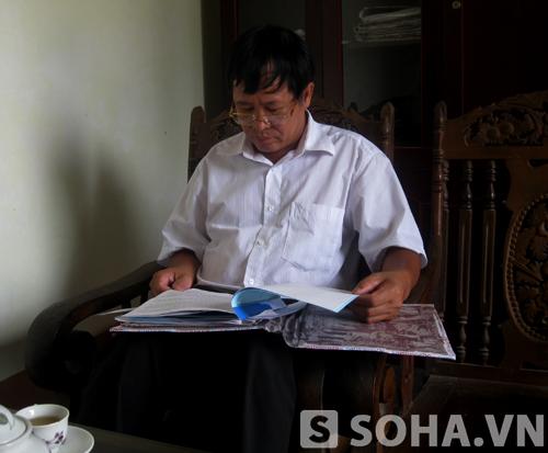 Ông Dương Văn Tuyên - Phó Chủ tịch UBND xã Thành Công:
