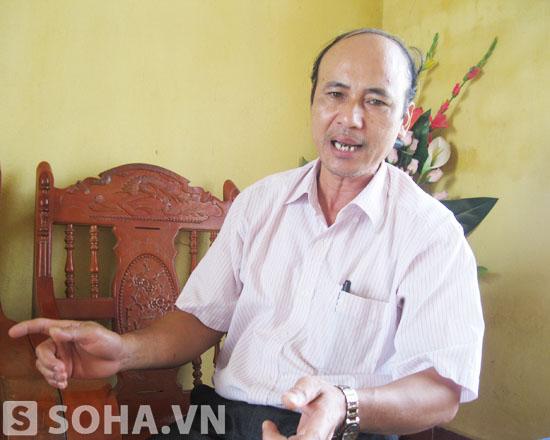 Ông Lê Đức Thước - Phó Chủ tịch UBND xã Thiệu Châu: