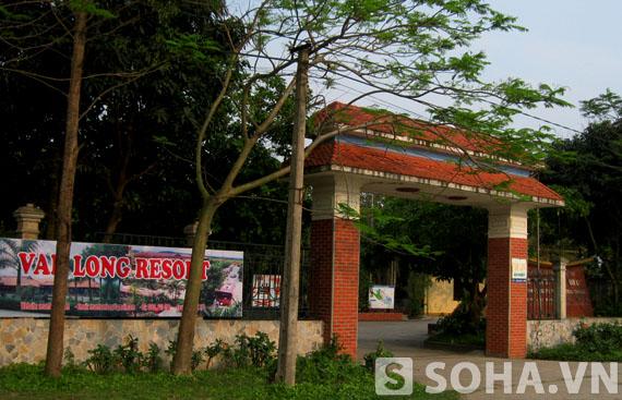 Khu resort Vân Long là một trong những resort ra đời sớm nhất ở Ninh Bình nhưng giờ chỉ hoạt động cầm chừng vì không có khách.