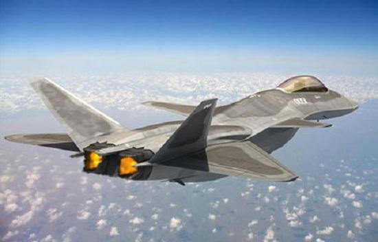Hình ảnh đồ họa của tiêm kích J-18