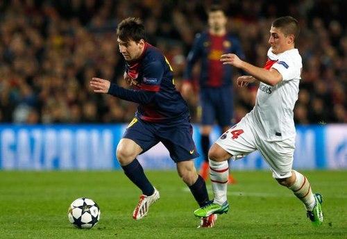 Messi đã tái phát chấn thương