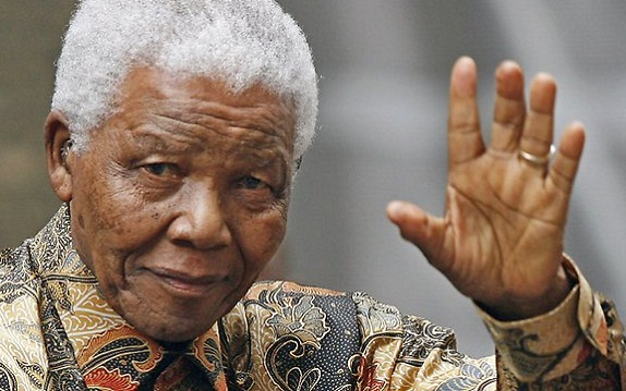 Ông Nelson Mandela.