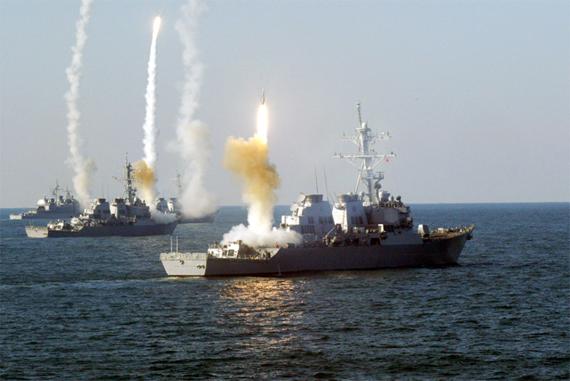 Tên lửa SM-6 được phóng bằng các bệ phóng thẳng đứng tiêu chuẩn Mk.41.