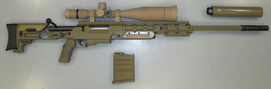 Một mẫu súng khác tham gia đấu thầu PSR do hãng FN sản xuất