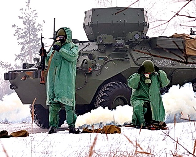 RB-531B trên khung gầm BTR-80.