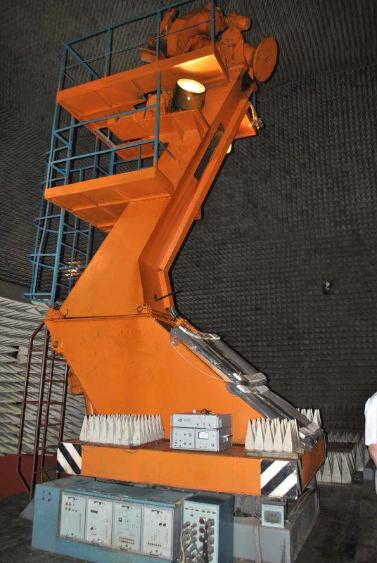Buồng thử nghiệm đặc biệt cho các loại ra đa được ISKRA sản xuất
