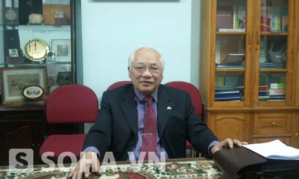 Nguyên Thứ trưởng Bộ Xây dựng Phạm Sỹ Liêm.